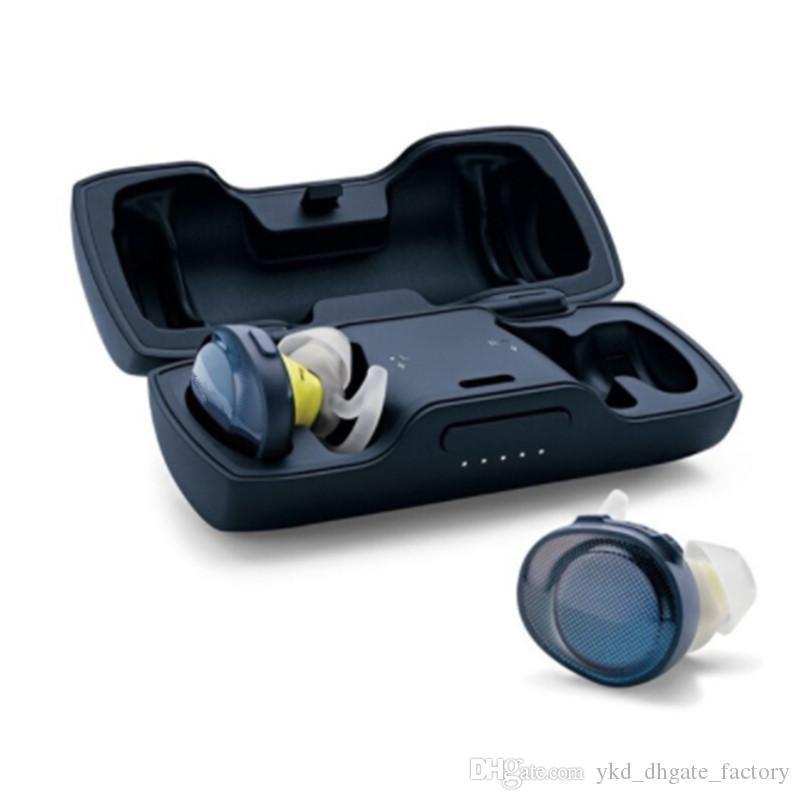 Esportes livres verdadeiros fones de ouvido sem fio bluetooth suor fone de ouvido com microfone tws esportes fones de ouvido à prova d'água