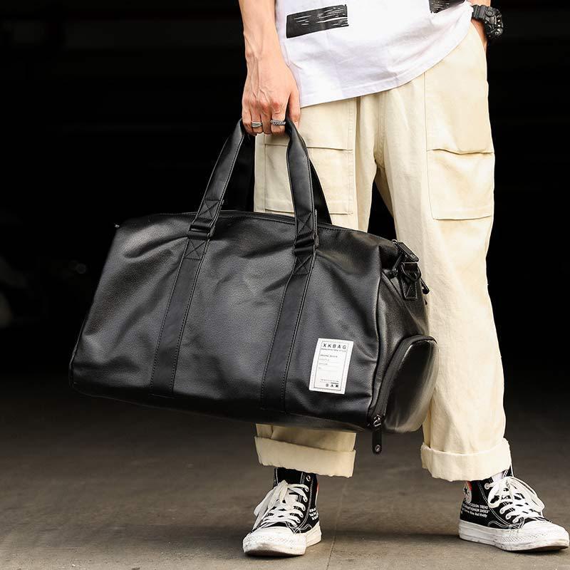 Sac de voyage Hommes Sacs à main de Duffle Sacs de remise en forme à grande capacité Business Business Women's Emballage Bagage Duffel