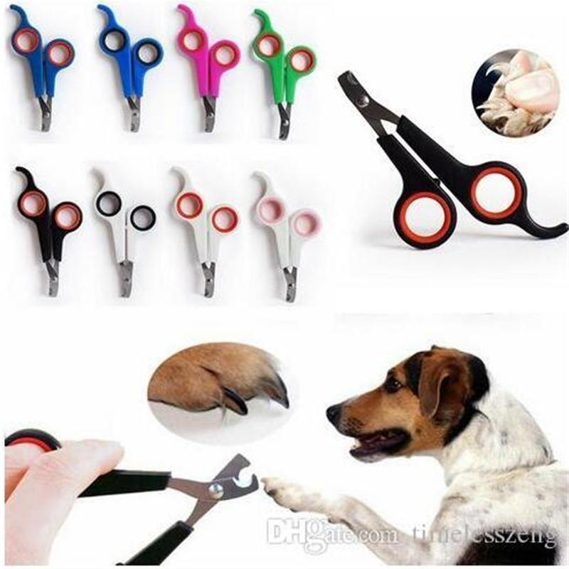 Tondeuse en acier inoxydable chiens chats ciseaux de ciseaux de tondeuse pour animaux de compagnie pour animaux de compagnie Santé 3TP6