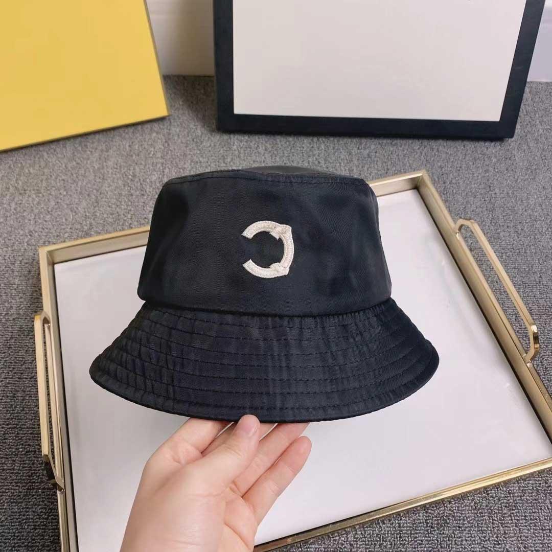 Cappello da secchio per le donne con ricamo lettera unisex sunhat cappelli da pescatore di moda Cappuccio moda traspirante Casual altissima qualità