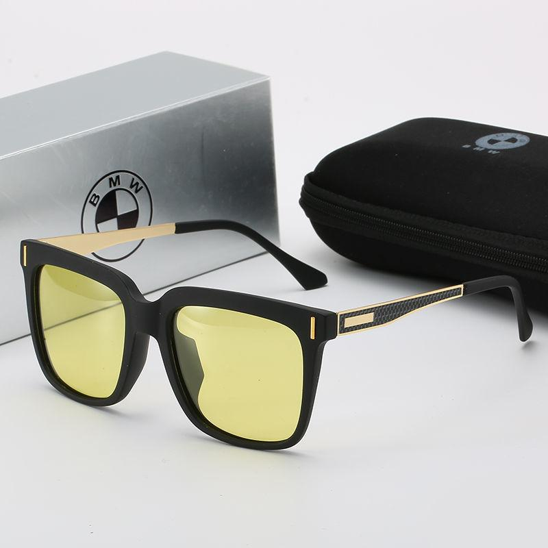 Çerçevesiz Hakiki BMW Güneş Gözlüğü Sürüş Güneş Gözlüğü Sürücü Gözlük Sürüş Balıkçılık Yuvarlak Yüz Net Kırmızı Gözlük Adam
