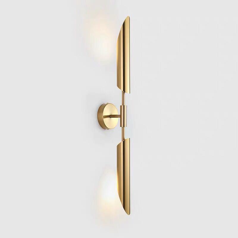 로비 크리 에이 티브 디자인을위한 노르딕 현대 벽 램프 거실 배경 빛 침실 머리맡 장식 비품