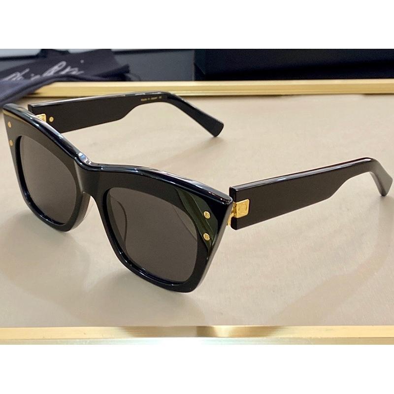 101 nuovi occhiali da sole di moda con protezione UV per uomini e donne Vintage Square Frame Popolare di alta qualità Viene fornito con custodia 101 Occhiali da sole