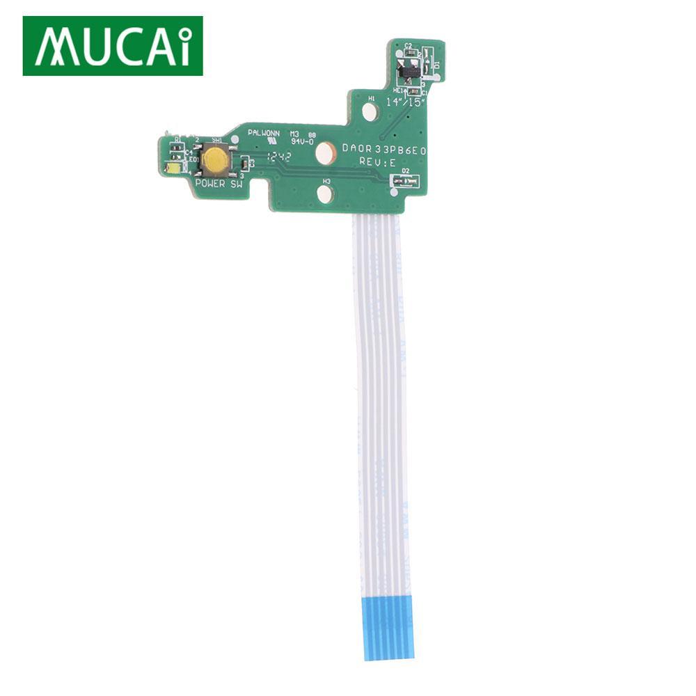 Pour HP Pavilion G4-2000 G6-2000 G7-2000 G6-2235US TPN-Q109 Bouton d'alimentation avec câble DAOR33PB6E0 DA0R33PB6E0