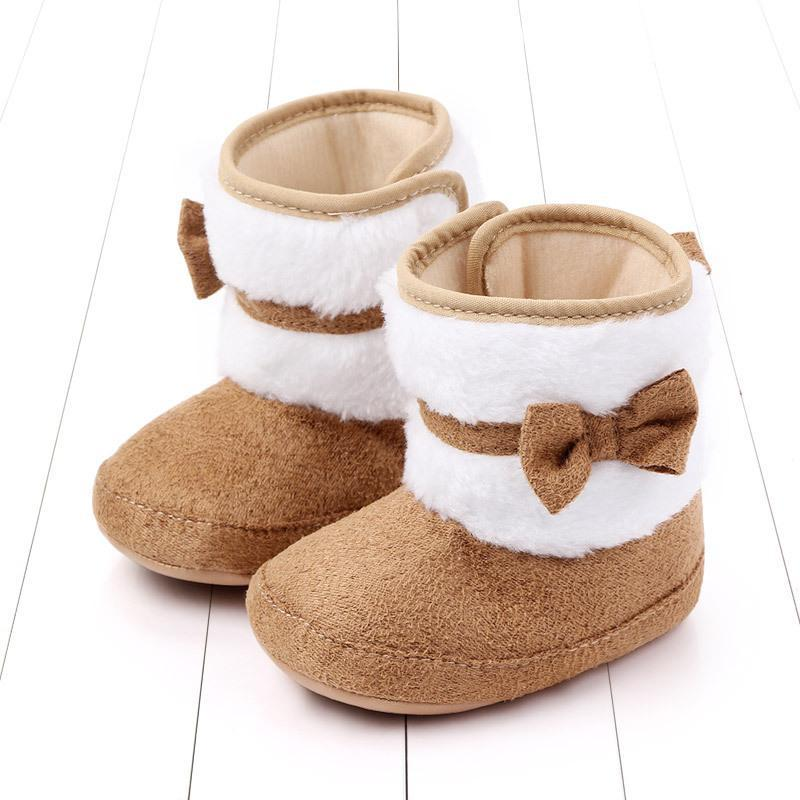 First Walkers Born Baby Socks Shoes Boys And Girls Beginners Toddler Cotton Comfortable Soft Non-slip Warm