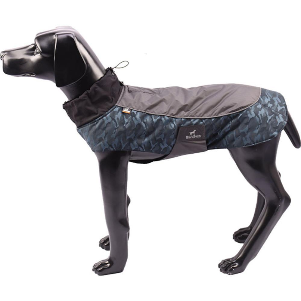Suprimentos outono e inverno quente algodão à prova de roupas ao ar livre roupas para animais de estimação suppli