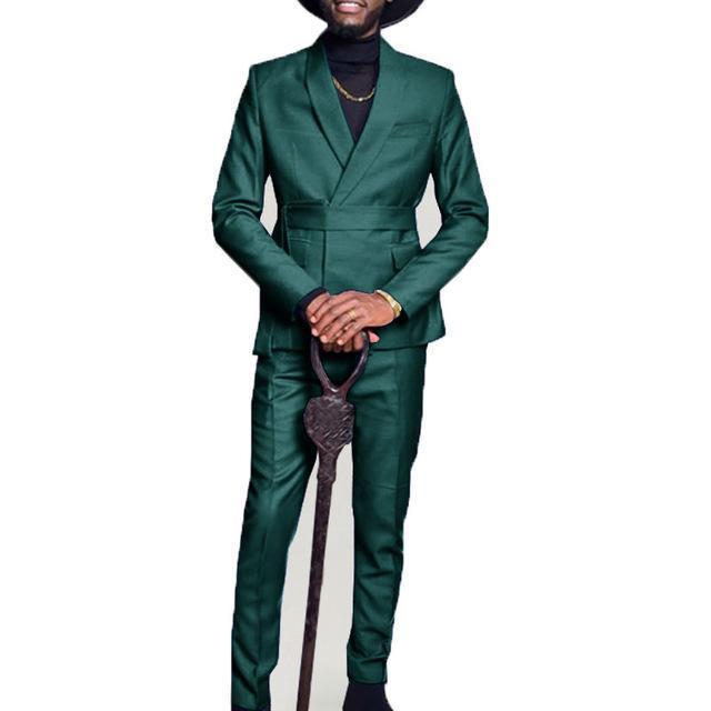 Cores Mens Suits 2 Peças Shawl Lapel Traje Homme Groomsmen casamento smoking para homens formal terno de baile (jaqueta + calças) homens blazers