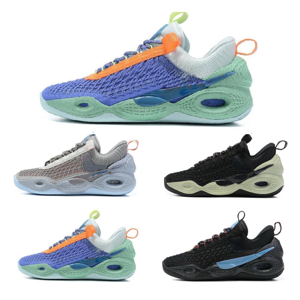 2021 أحذية رجالية الكونية أحذية كرة السلة أسود أبيض شبح الأرض يوم ملغم الفضاء الهبي الأخضر الوهج ياكودا المحلية متجر على الانترنت دروبشيبينغ مقبل خصم رخيصة