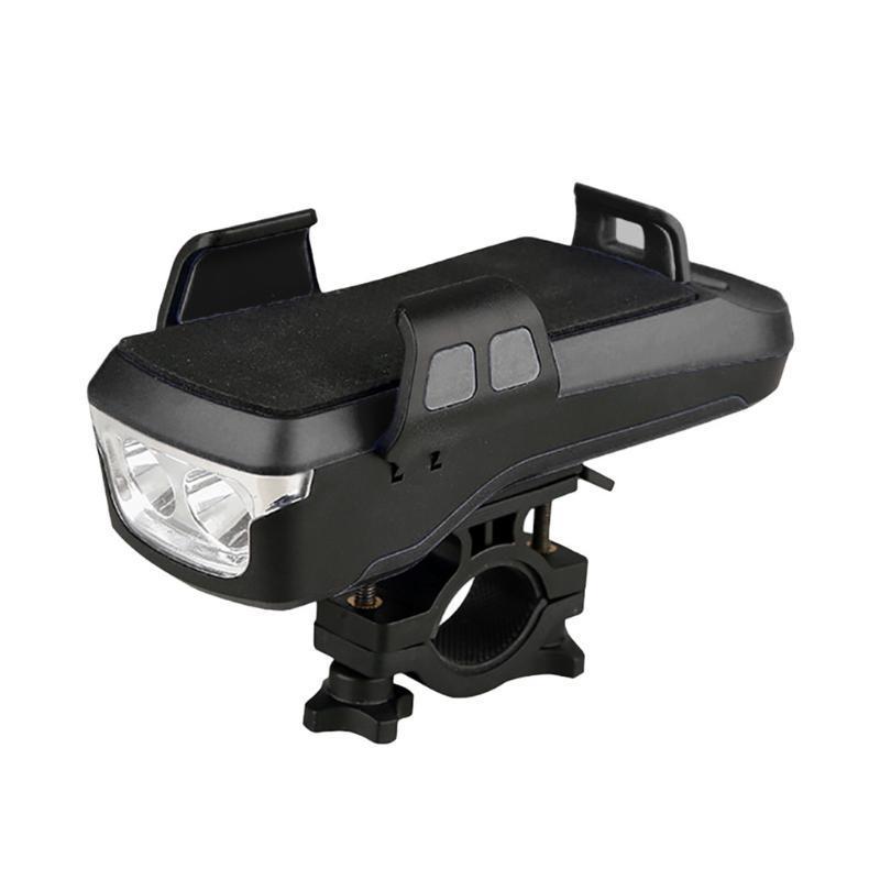 Phare de vélo de vélo Kongyide Phare de vélo avec cornoir MTB MTB USB Rechargerable LED Mountain Imperméable pour une lumières