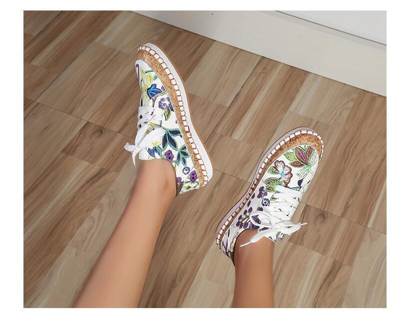 Bayan Rahat Loafer'lar Ayakkabı Kadınlar 2021 Bahar Ve Yaz Daireler Büyük Boy Stokta Yumuşak Ayakkabı Toptan ve Dağıtım 35-43