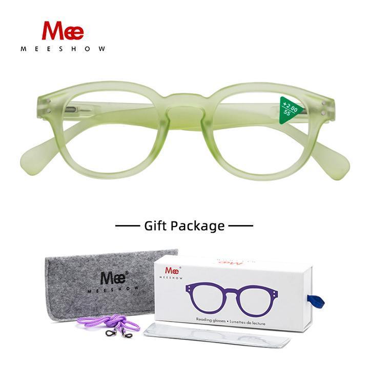 Meeshow Очки для чтения Очки для женщин Очки для очков Lesebrillen Подарочная упаковка 2.0 Женская 1513 Солнцезащитные очки