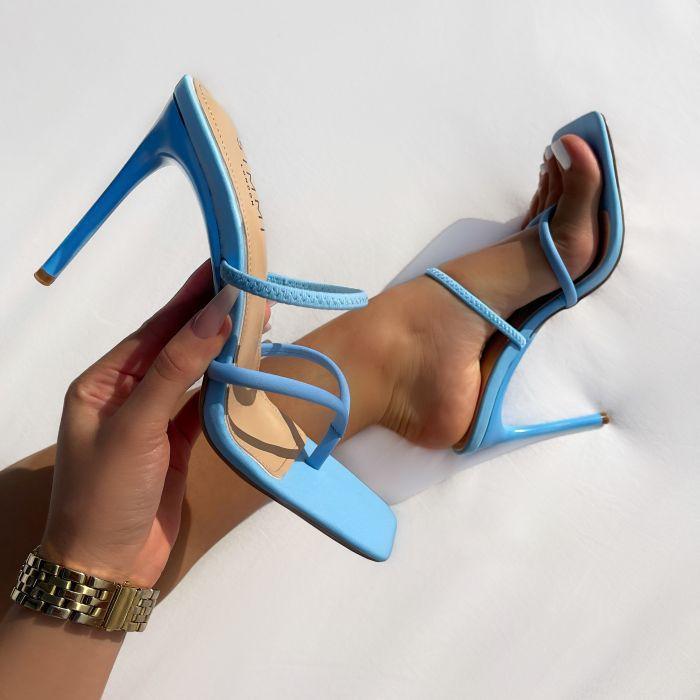 Diseño Clip Toe Womens Diapositivas Damas vestido de fiesta zapatillas moda flip flops stiletto alto talón zapatos cuadrados sandalias cuadradas