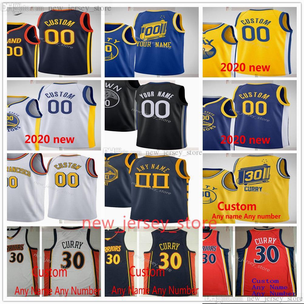 Jerseys de baloncesto impreso personalizado 33 James 30 Stephen Wiseman Curry 11 Klay 22 Andrew Thompson Wiggins 12 Kelly Draymond Oobre Jr. Jersey Green