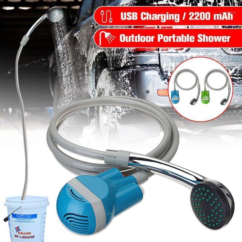 12 V portatrice auto portatile campeggio doccia wireless auto doccia DC 12V pressione pompa a pressione all'aperto viaggio roulotte furgone animale domestico acqua canotta1