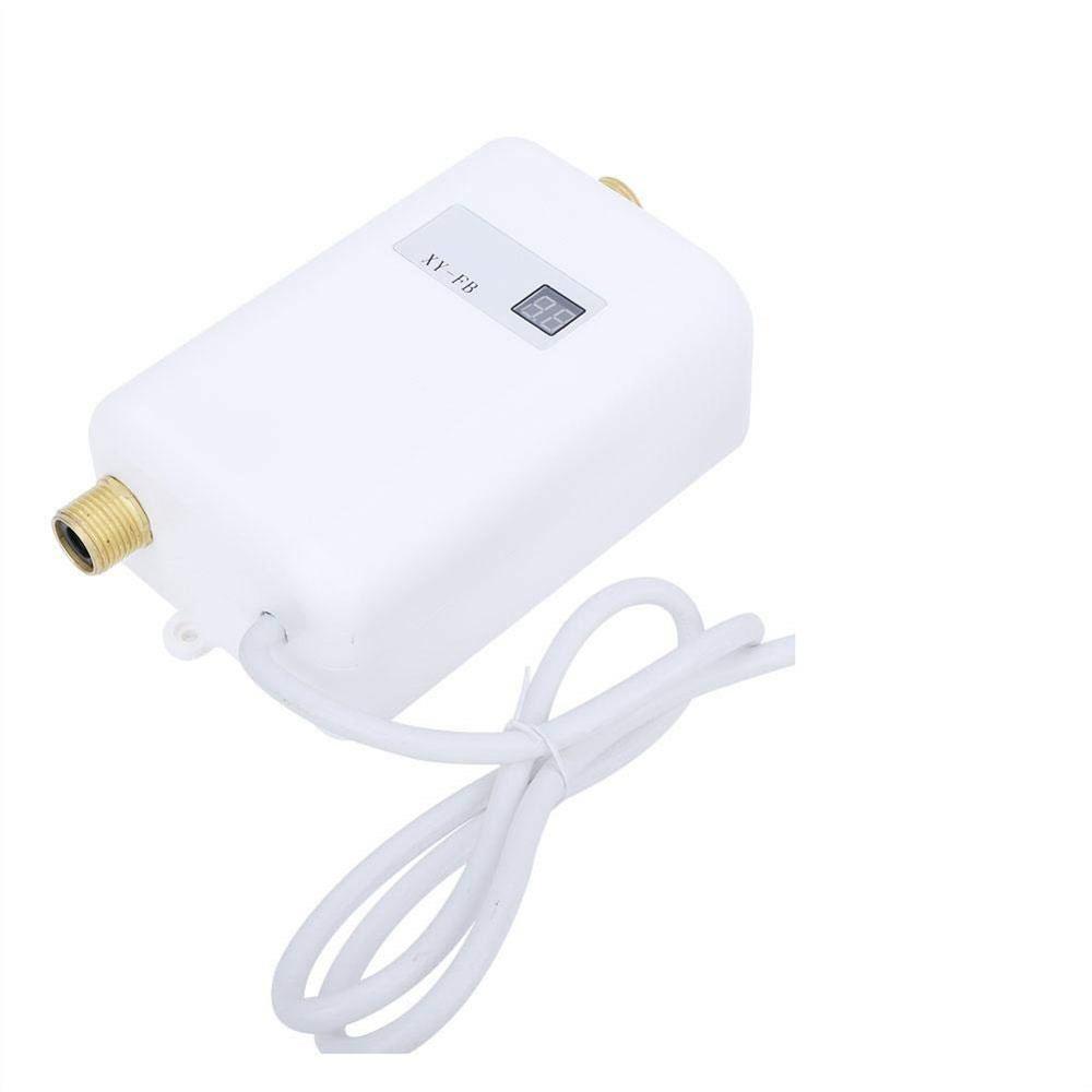 FB-G, calentador de agua eléctrico 220V-240V 3000W Mini Sistema de calentador de agua caliente instantáneo sin tanque para baño Cocina Hogar