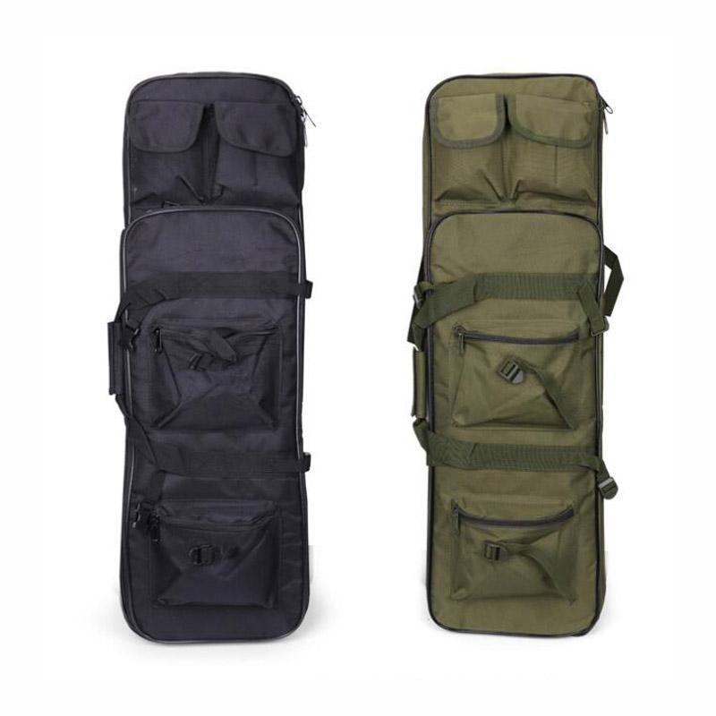 Stuff Sacos Saco de Caça Tático Army Rifle Square Carregar Proteção Arma Militar Caso para Pesca Nylon Soft Sport Backpack