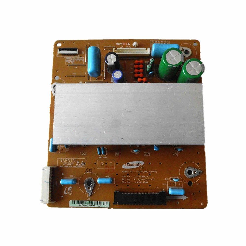 Проверенные рабочие оригинальные телевизоры Z доска телевизионные детали PCB блок для Samsung YB09 YD13 42U2P-XM LJ92-01736A LJ41-08591A