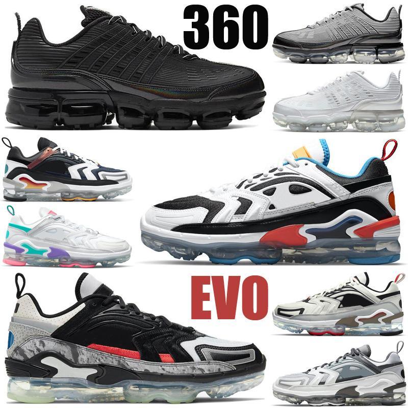vapormax 2020 360 360s hommes femmes chaussures Obsidian mens triple noir Multi laser blanc Pierre bleu sommet Pure Platinum formateurs baskets de sport