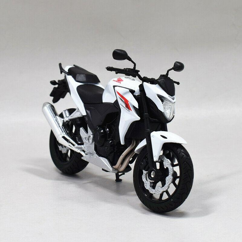 Welly 118 Honda CB500F Motorcycle Bike Modelo Brinquedo Novo na caixa