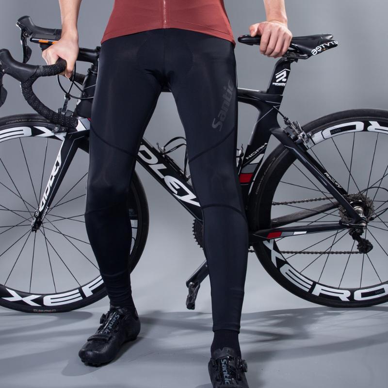 Coolmax 패딩 된 MTB 라이딩 사이클 바지 바닥과 자전거 여름 자전거를 경주하기 바지