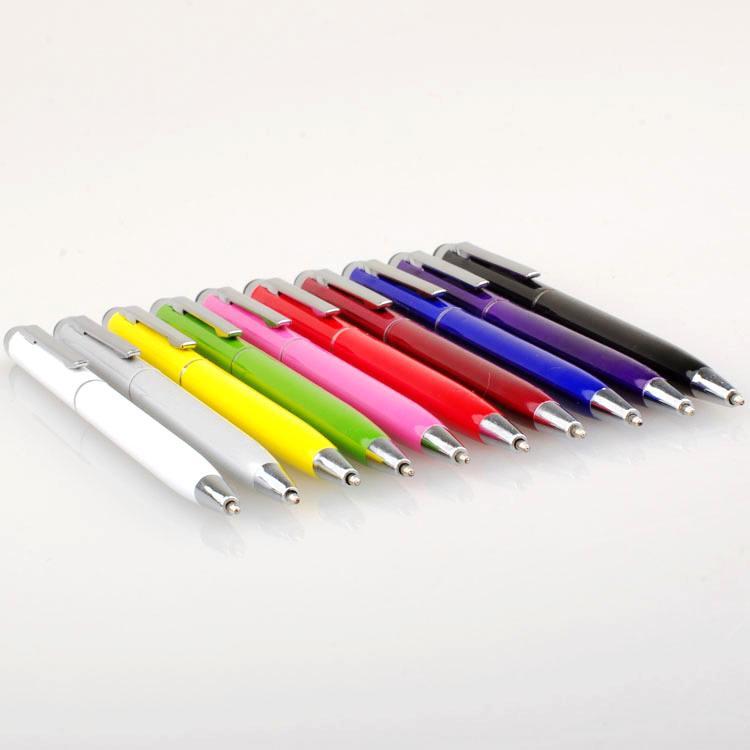 Stylus Ball Point Stylo 5,31 pouces 2 en 1 Muti-Foduction Capacitif tactile tactile Écrire pour SmartPlone Tablet PC 1000PCS / Lot