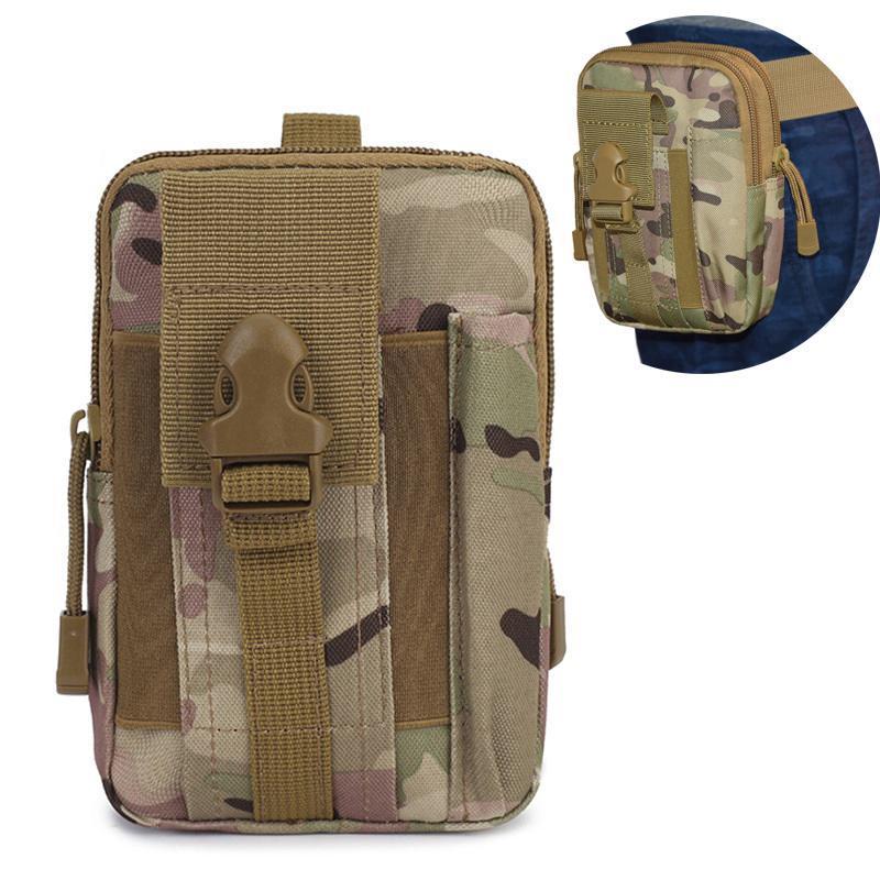 Men Running Phone Bag Tactical Waist Hiking Trekking Purse Outdoor Waterproof Sports Pack Women Athletic Pouch Bags