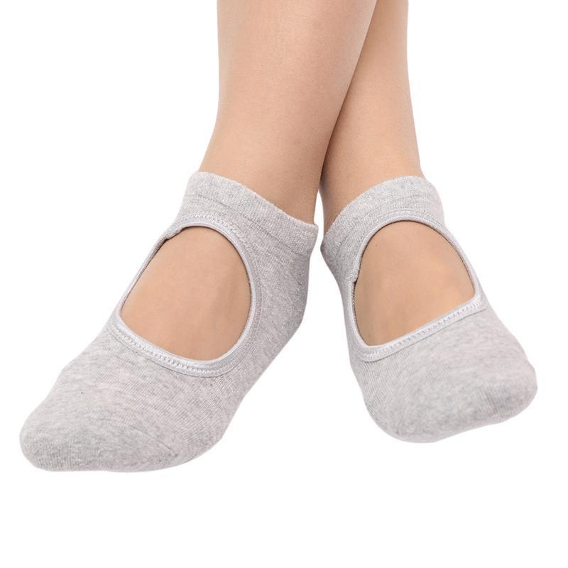 Calcetines deportivos Blend de algodón transpirable Yoga para baile Balle Fitness Accesorios de ropa deportiva Barco corto