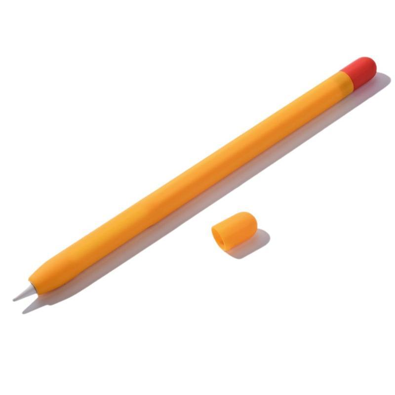 قلم ستايلس غطاء القلم سيليكون لتفاح قلم رصاص مطابقة واقية عدم الانزلاق المضادة للانزلاق الغيارات