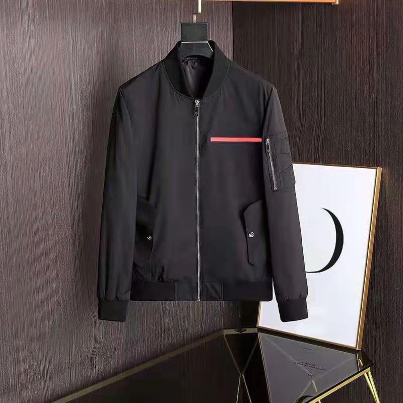 SS001 패션 망 디자이너 재킷 Good 봄 가을 outwear 윈드 재킷 지퍼 옷 재킷 외부 캔 스포츠 유로 크기 남성 의류