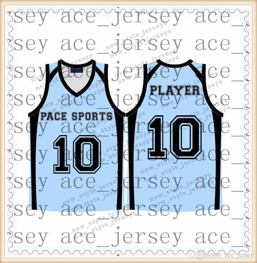 -49New 농구 유니폼 화이트 블랙 남성 청소년 통기성 빠른 건조 100 % 스티치 고품질 농구 유니폼 S-XXL3
