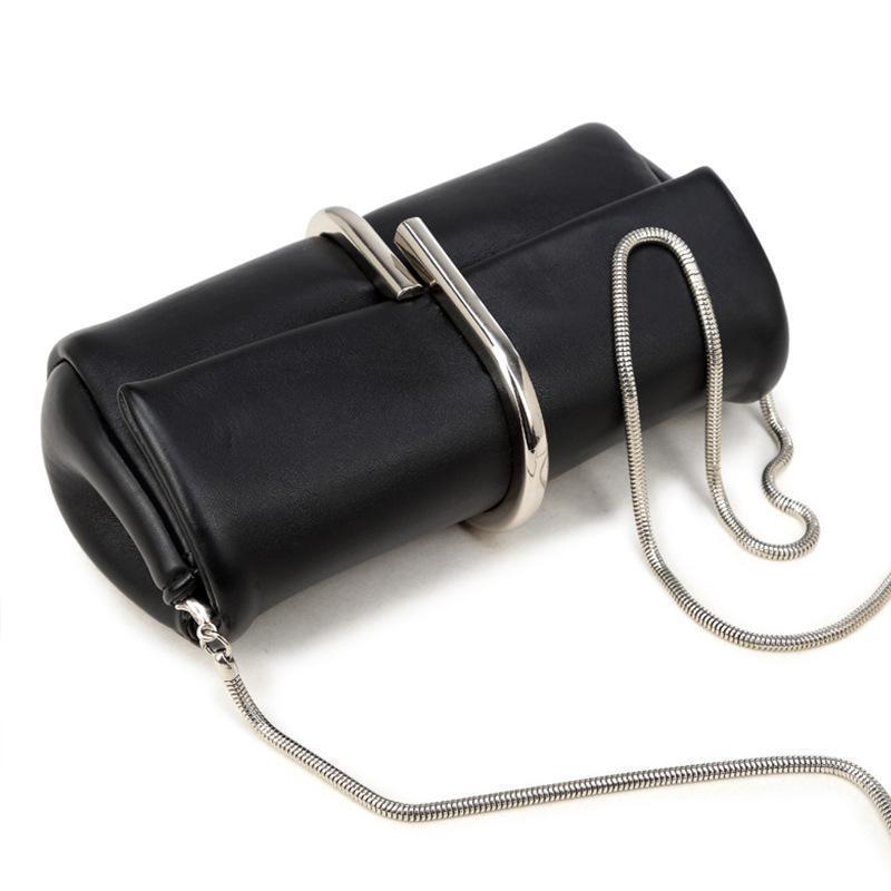 Mulheres saco designer cadeia de clipe para saco mulheres embreagem de osso crossbody e bolsa de alta qualidade bolsas de marca de papel cobra ombro uiwil
