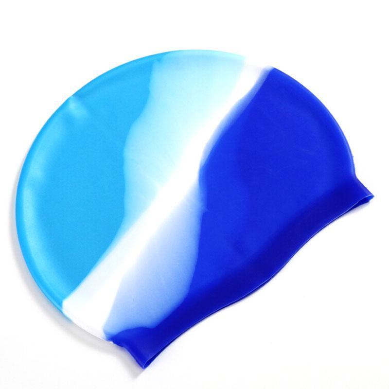 Силиконовые водонепроницаемые забавные колпачки Спортивные купальники Бассейн Шляпа Cap Free Размер для мужчин Женщины Взрослые