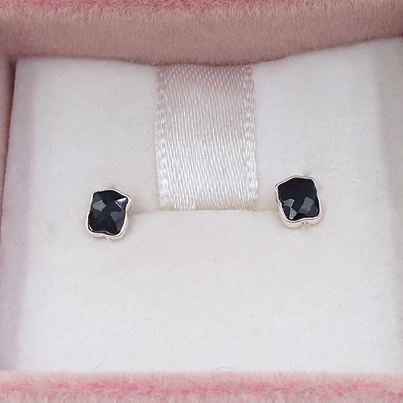 Orecchini in argento sterling 925 Orecchini in argento sterling mini Orecchini Onix in argento con Onyx Adatti il regalo in stile gioielli europeo 0.9184536