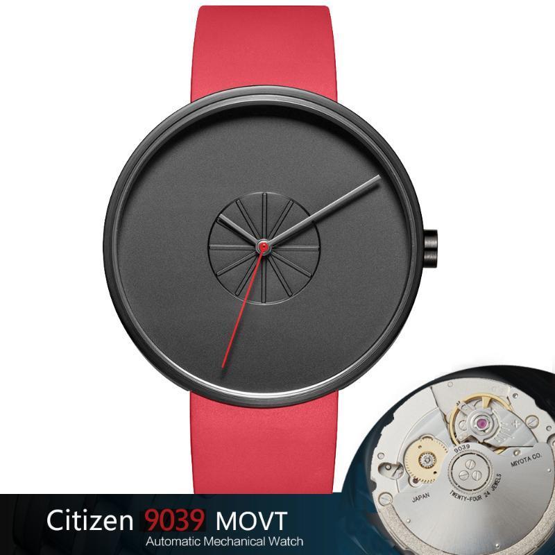 Casual Mannen Horlologes Automatische Mechanische Polshorloge Miyota 9039 Top Merk Luxe EuVoudige Horloge Saffierglas Klok Armbanduhren