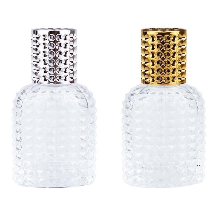 30MLGLASS Парфюмерная распылительная бутылка пустые защитные косметики распылитель бутылки охладителя Profume-бутылка для путешествий EWF8423