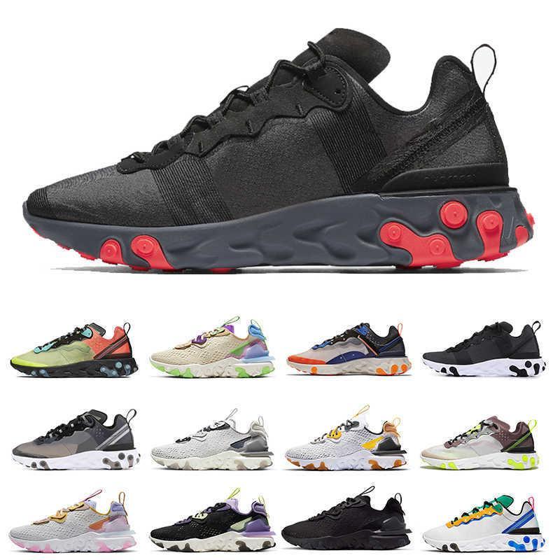 Новые солнечные красные женщины Reaction Vision Chaussures Type N354 Gore-Tex Element 55 87 кроссовки для беговой обуви Всего апельсиновый разводной мужской оптом спортивная обувь