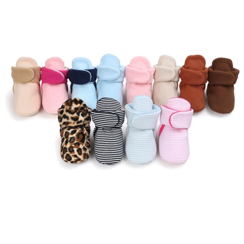 Unisex Baby Neonato Faux Fleece Bootie Winter Warm Nefant Toddler Scarpe Scarpe Classic Boys Boys Girls Boots 2257 V2