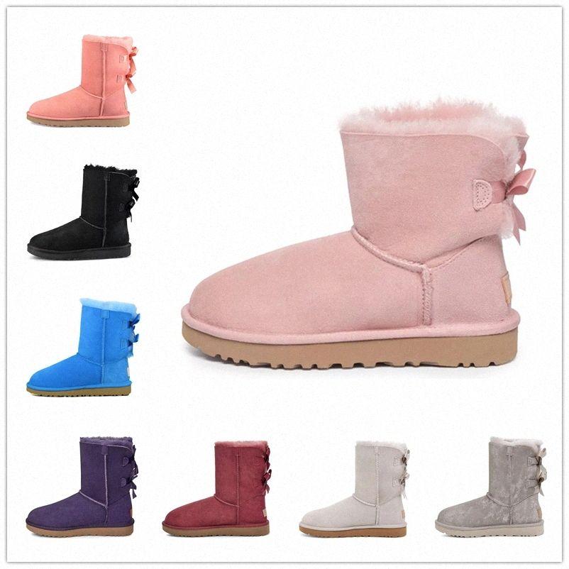 2021 Nova chegada mulheres botas de neve moda inverno bota clássico mini tornozelo senhoras curtas meninas mulheres botinhas cinza castanha marinha azul 05km #