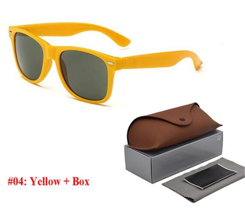 NEUE2021 Hohe Qualität Neue Ray Männer Frauen Sonnenbrille Vintage Pilot Marke Sonnenbrille Band UV400 Bans Ben Sonnenbrillen mit Kasten und Fall 2140 R6