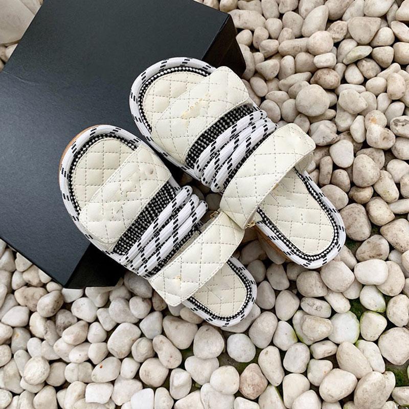 Плоские натуральные кожаные сандалии сандалии женские летние женщины открытые пальмы на платформе лето женщин сандалии дизайн бренда слайды роскошные ботинки