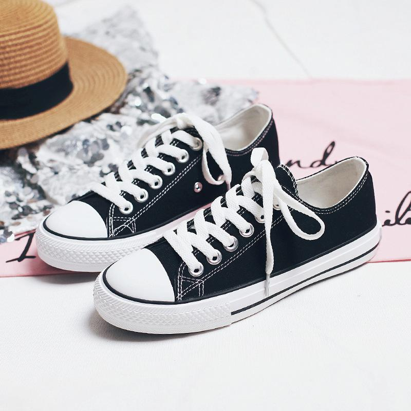 Beier Chic Classic Canvas Shoes 1970s retrò amanti Scarpe Coreano Ulzzang Scarpe casual Street Shooting Panno per le donne