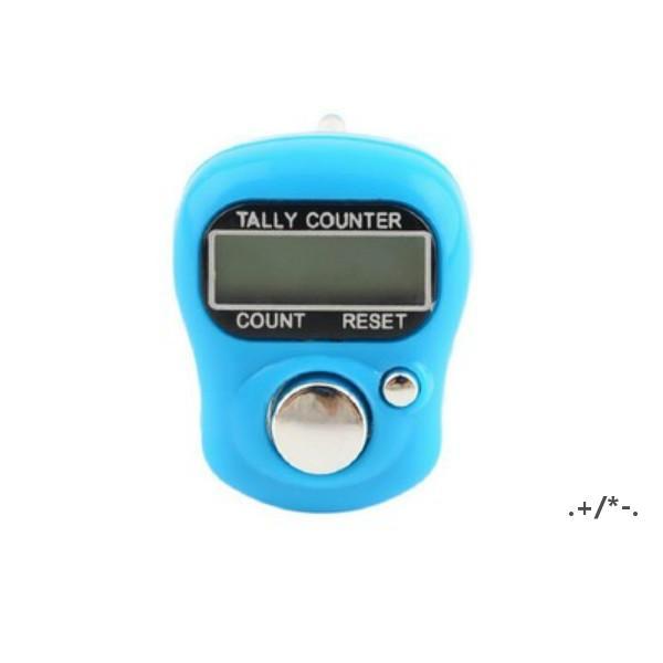 Mini El Zamanlayıcıları Bant Tally Sayaç LCD Dijital Ekran Parmak Yüzük Elektronik Kafa Sayısı EWD5805