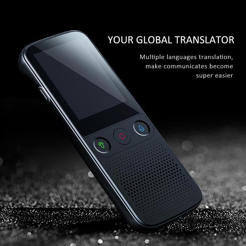 Translador de voz inteligente WiFi Inteligencia artificial Traducción PO Grabación Busines Walkie Talkie