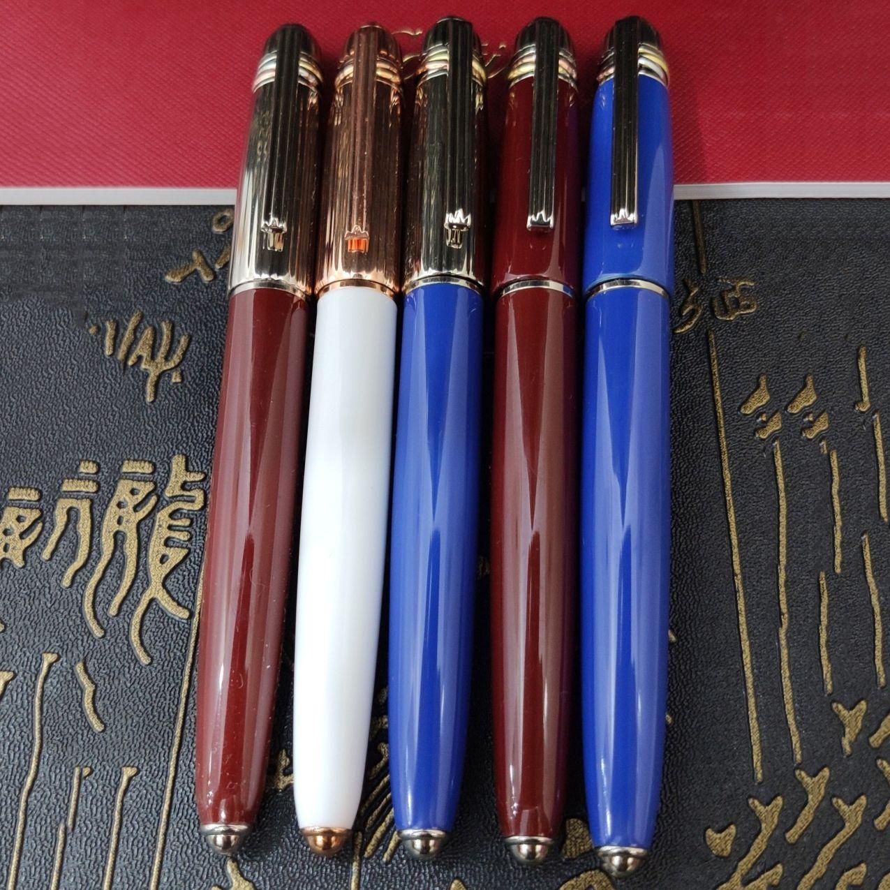 5A Hohe Qualität Luxus Roller Ball Pen 5 Arten Büro Schreibwaren Unterschrift Mode Writing Exquisite Business Gift Festival-Geschenk (mit Original Box)