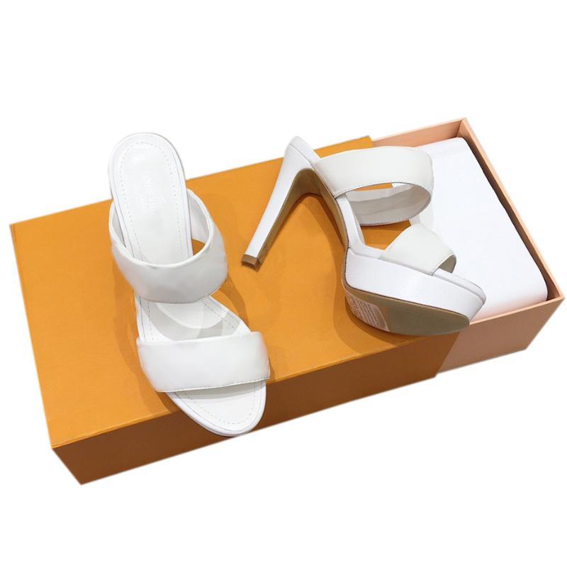 여자 샌들 패션 패션 패션 샌드 품질 가죽 하이힐 신발 여름 슬라이드 비치 슬리퍼 플랫폼 여성 섹시한 하이힐