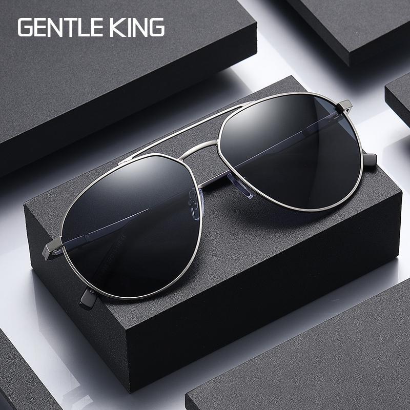 Lunettes de soleil polarisées de luxe Shades de conduite pour hommes Mâle Sun lunettes Vintage Voyage Pêche Classique
