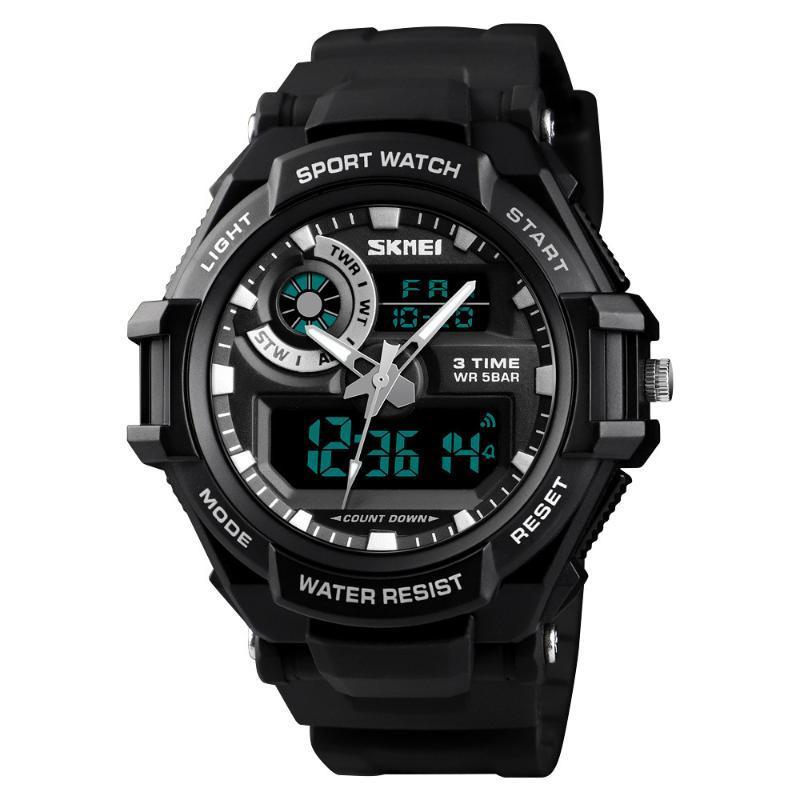 Armbanduhren immer schöner trend cooter student sportuhr im freien wasserdichte elektronische männer