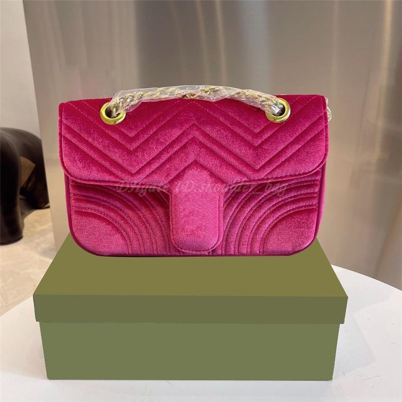 Cadeia de ombro saco crossbody bolsa bolsa bolsa bolsa de carteira flap square coração veludo mochila dupla g totes bolsas 2021 mulheres luxurys designers bolsas bolsas