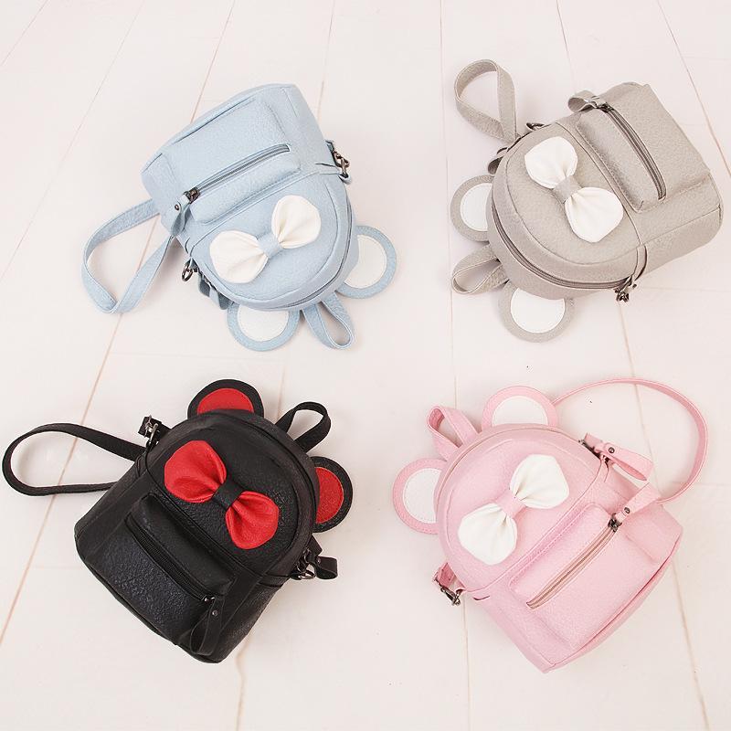 귀여운 미니 여자 활 배낭 패션 유치원 schoolbag 키즈 가방 소녀 순수한 색 아이 메신저 가방