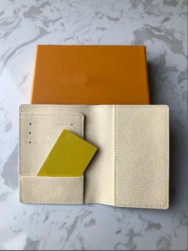고품질 Luxurys 디자인 카드 홀더 휴대용 키 P0uch 지갑 클래식 망 여성 여권 홀더 동전 지갑 먼지 가방과 상자
